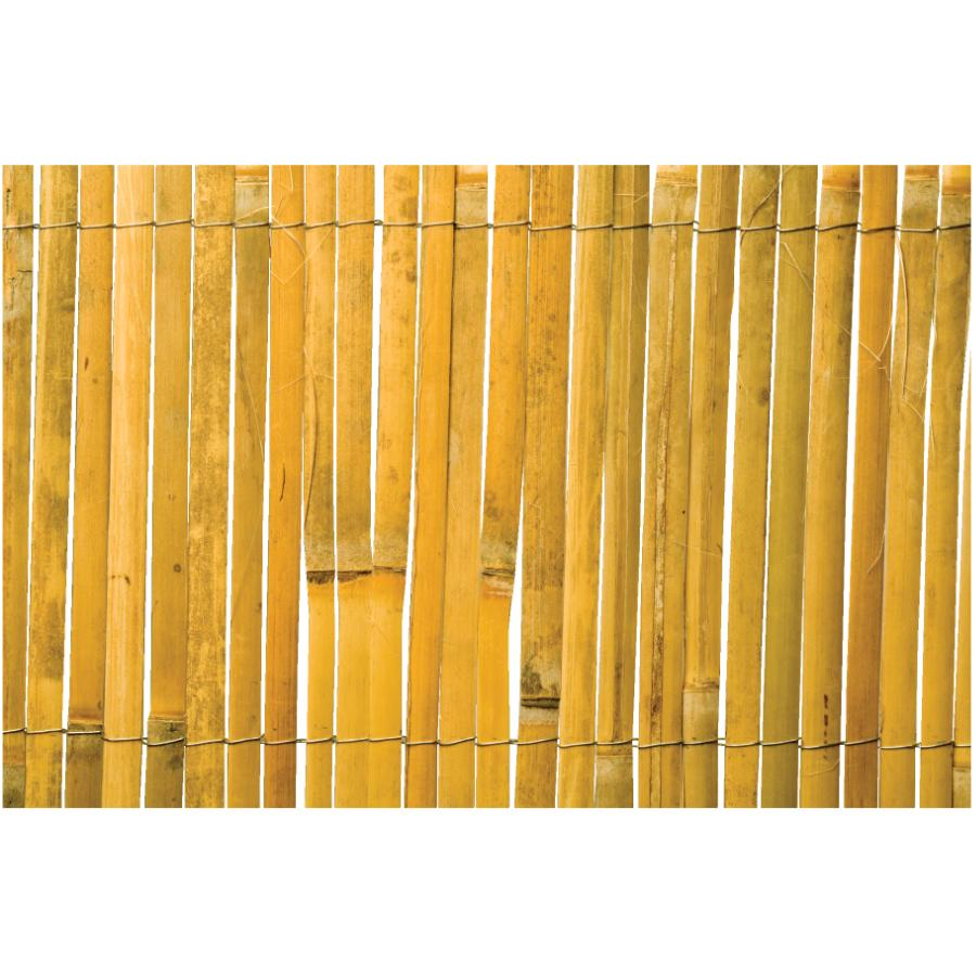 Bamboo Fence Canada 2m Tall X 5m Long Split Bamboo Fence Home Hardware Canada