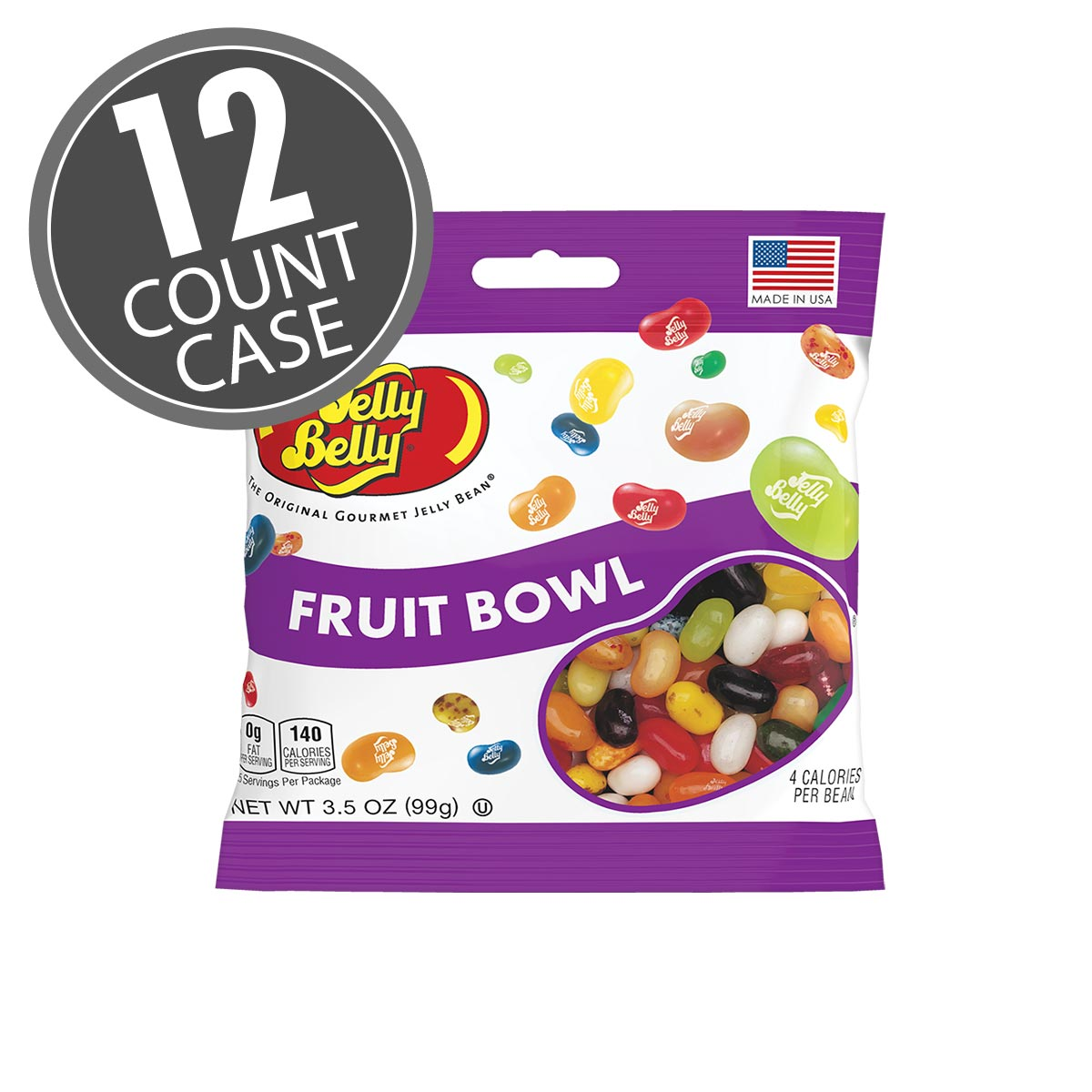 Fruit Bowl For Counter Fruit Bowl Jelly Beans 3 5 Oz Bag 12 Count Case