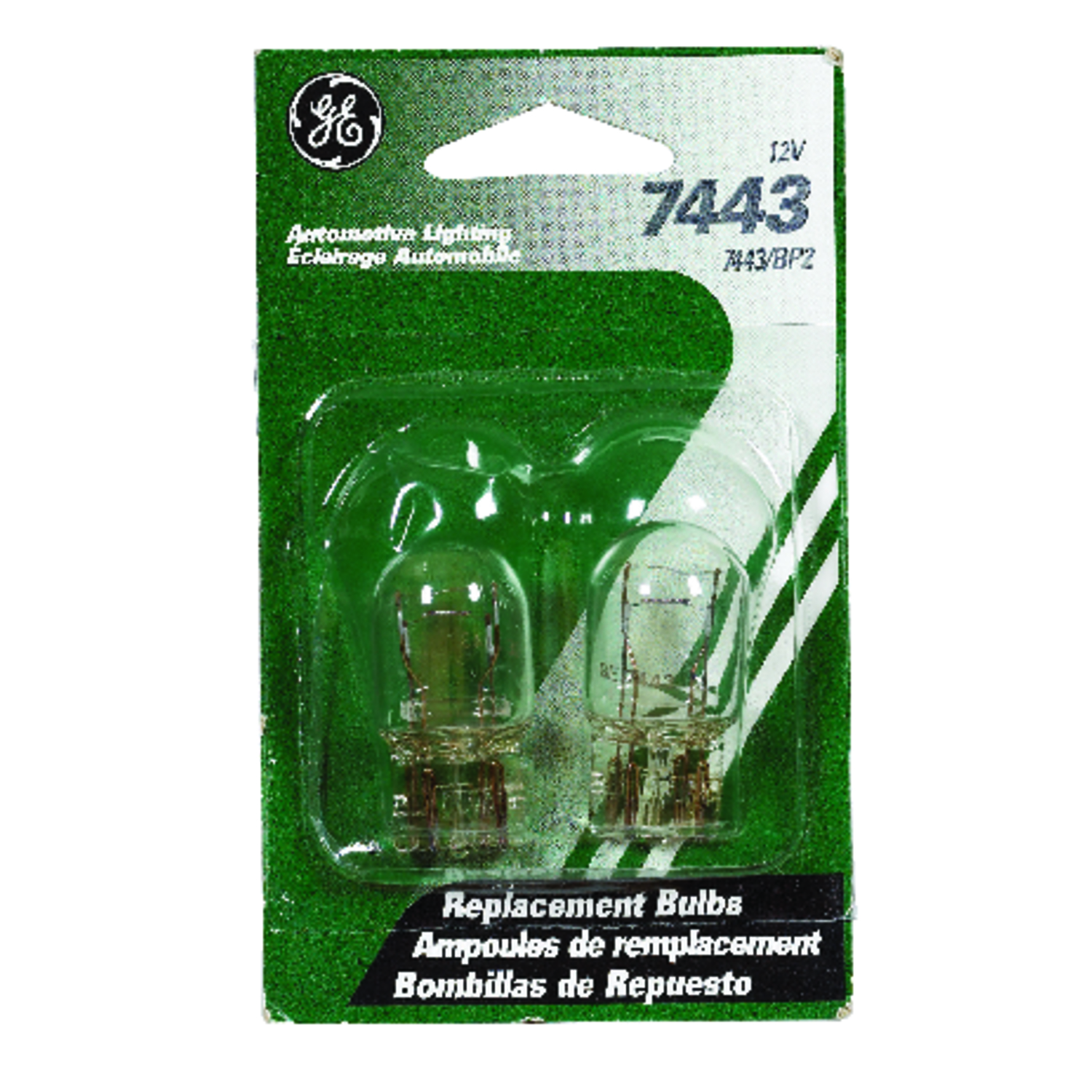 Eclairage 12 Volt Ge 12 Volt T7 Automotive Bulb 2 Pk 7443bp2 Ace Hardware