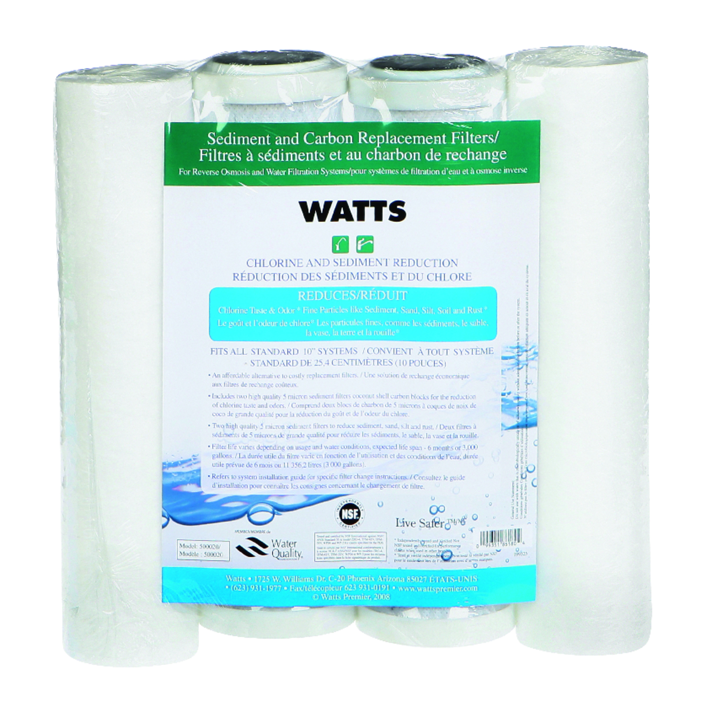 Watts Water Filter Replacement Watts Replacement Water Filter For Under Sink 3000 Gal