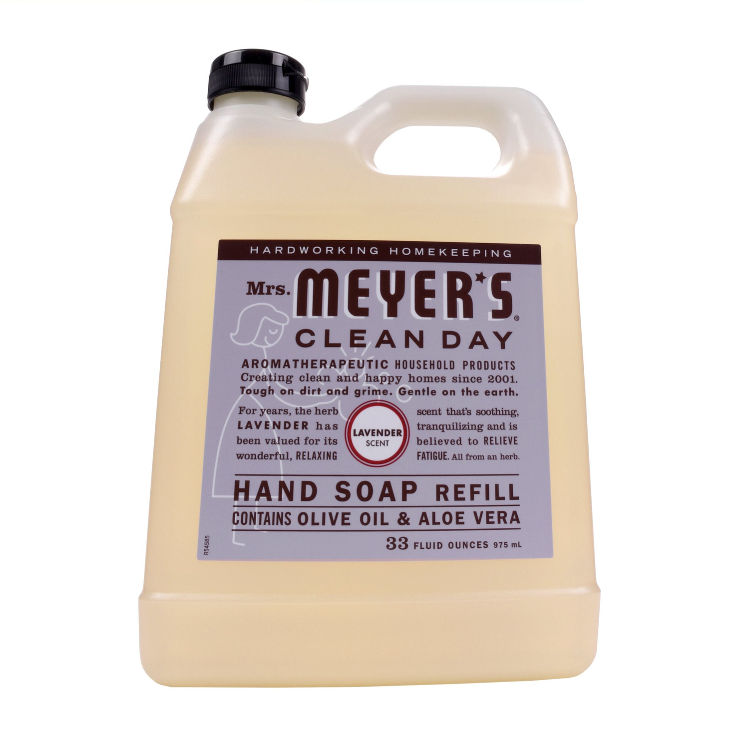 Hand Soap Refill Mrs Meyer S Clean Day Organic Lavender Scent Hand Soap Refill 33 Oz