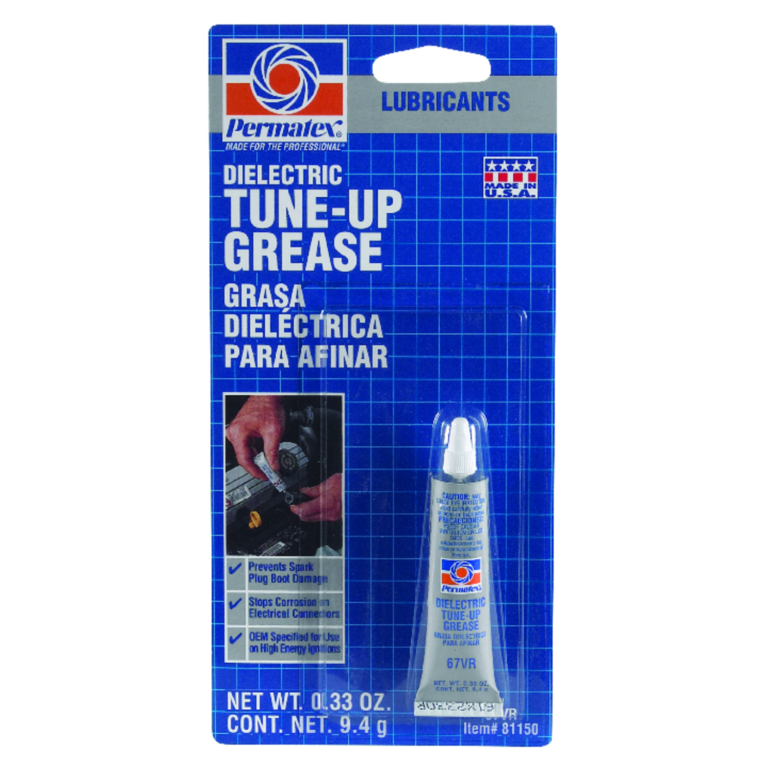 Dielectric Grease Permatex Dielectric Tune Up Grease 33 Oz Carded Ace Hardware
