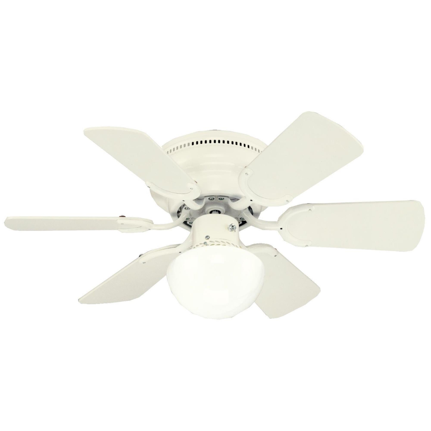 Ceiling Fan With Folding Blades Westinghouse Petite 17 5 6 Blade Indoor Antique White Ceiling Fan