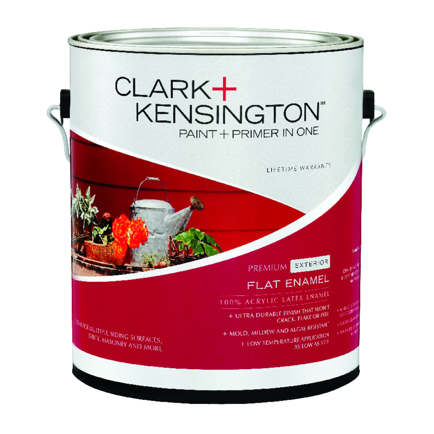 Harga Cat No Drop 2018 Clark Kensington Flat Designer White Acrylic Latex House Paint 1