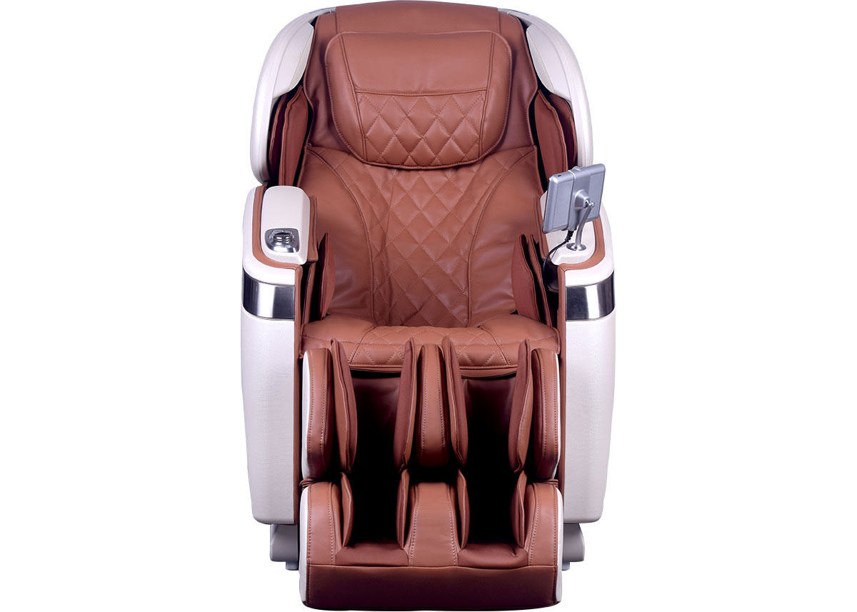Massage Chair Cover Tranquility Cappuccino And Pearl White Massage Chair
