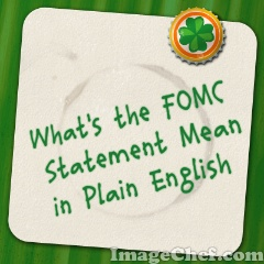 Fomc press release for Portent meaning in english
