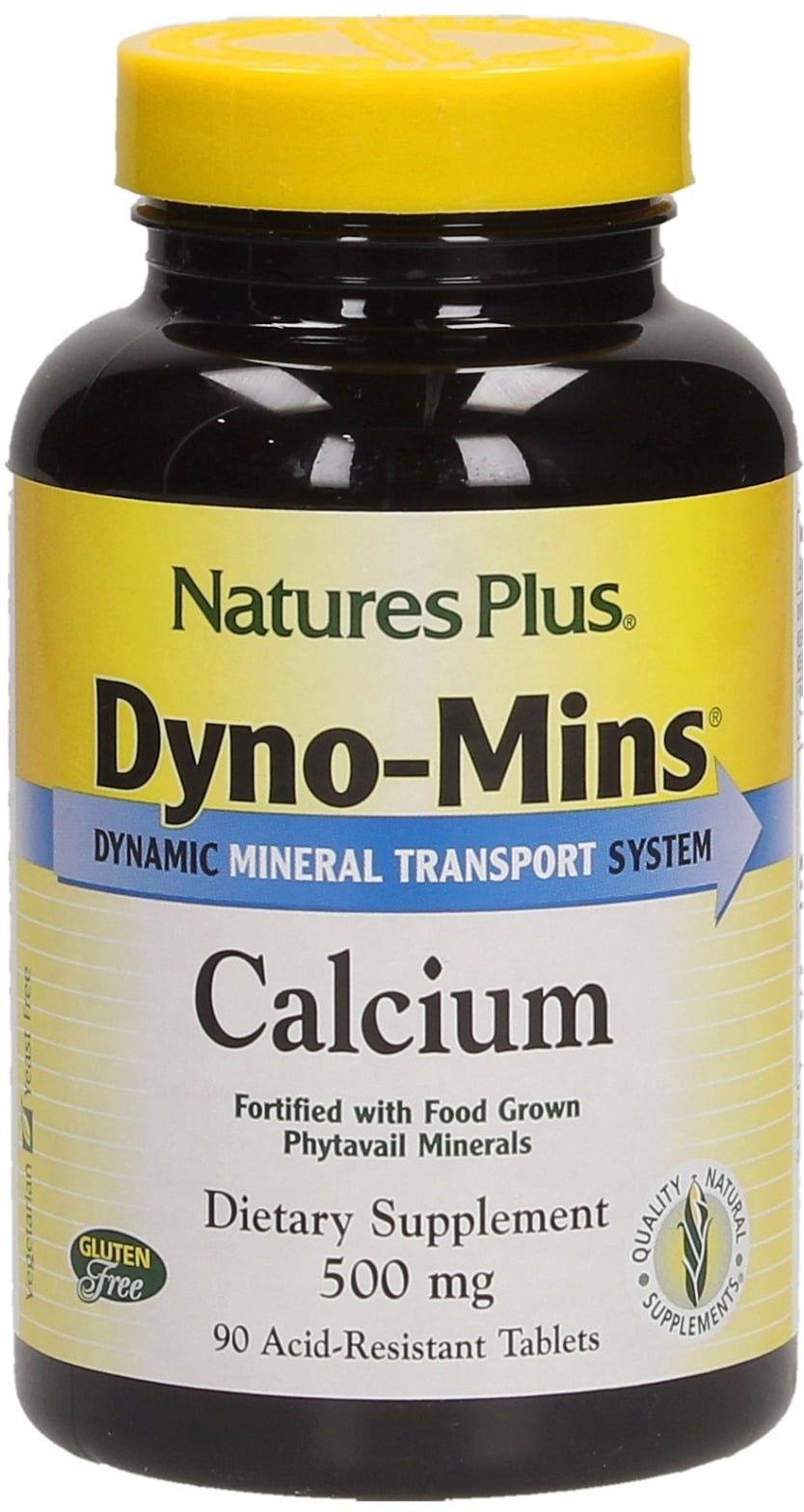 Calcium Tabletten Nature S Plus Dyno Mins Calcium 500 Mg
