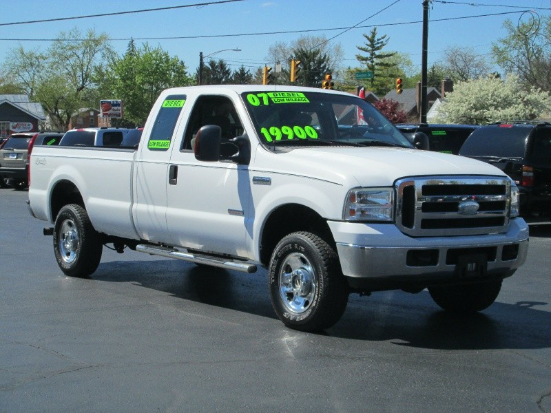 2007 FORD F-250 SUPER DUTY DIESEL 4DR SUPERCAB XLT 4X4 PICK-UP**ONLY