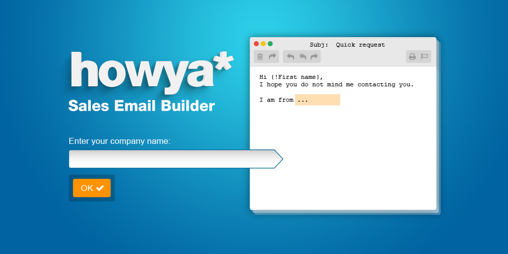 Prospecting Email Templates Builder -OnePageCRM