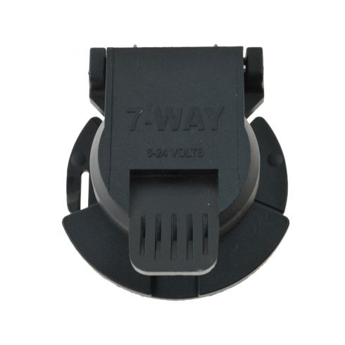 7 Way Trailer Wiring Socket Curt 56415 - CTTHR00174 at 1A Auto