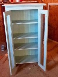 DIY Pallet Primitive Bathroom Storage Cabinet  101 Pallets