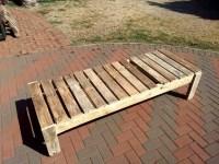 Wooden Pallet Lounger  101 Pallets