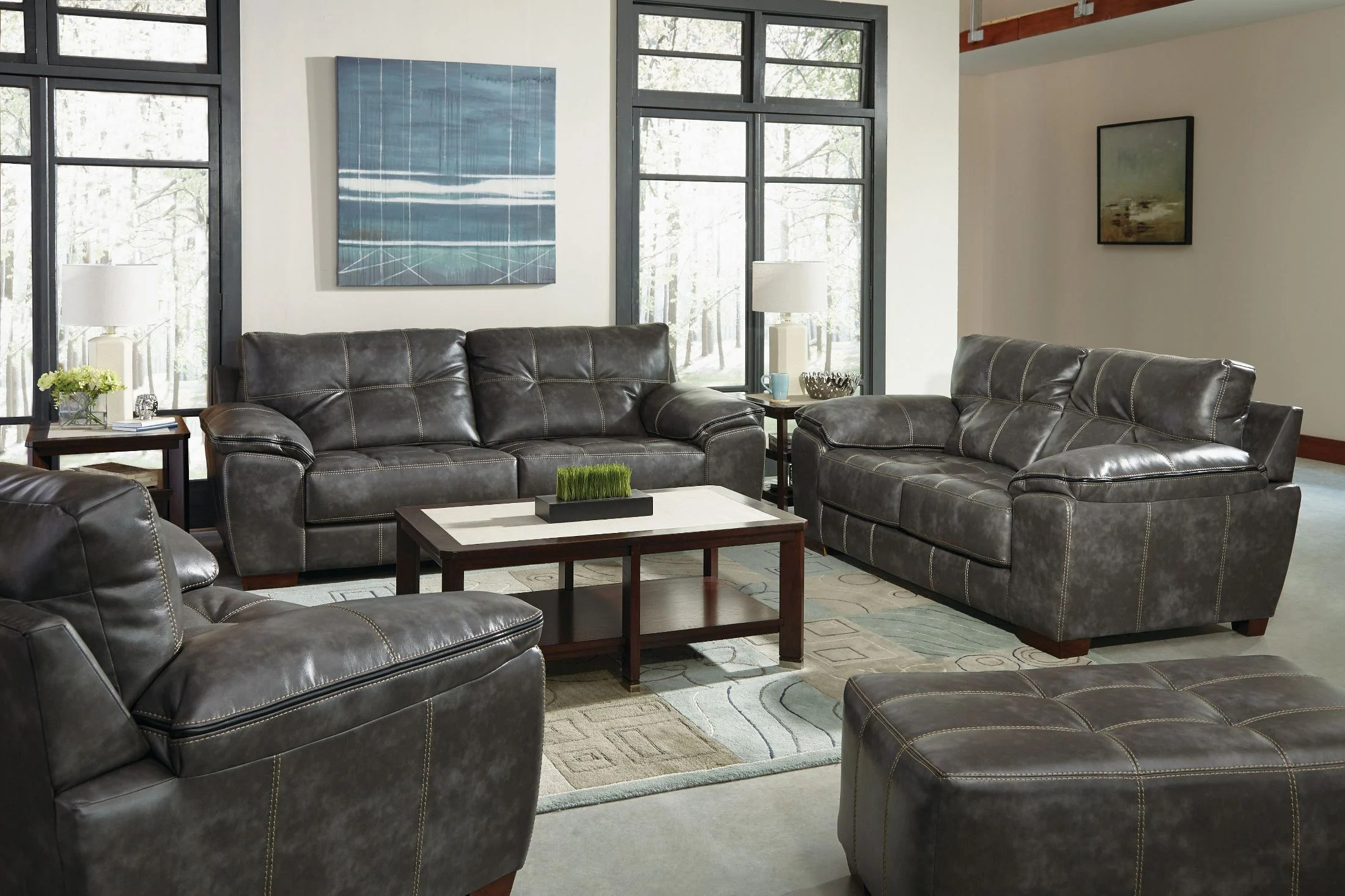 Hudson Sofa Collection Reviews Hudson Steel Living Room Set