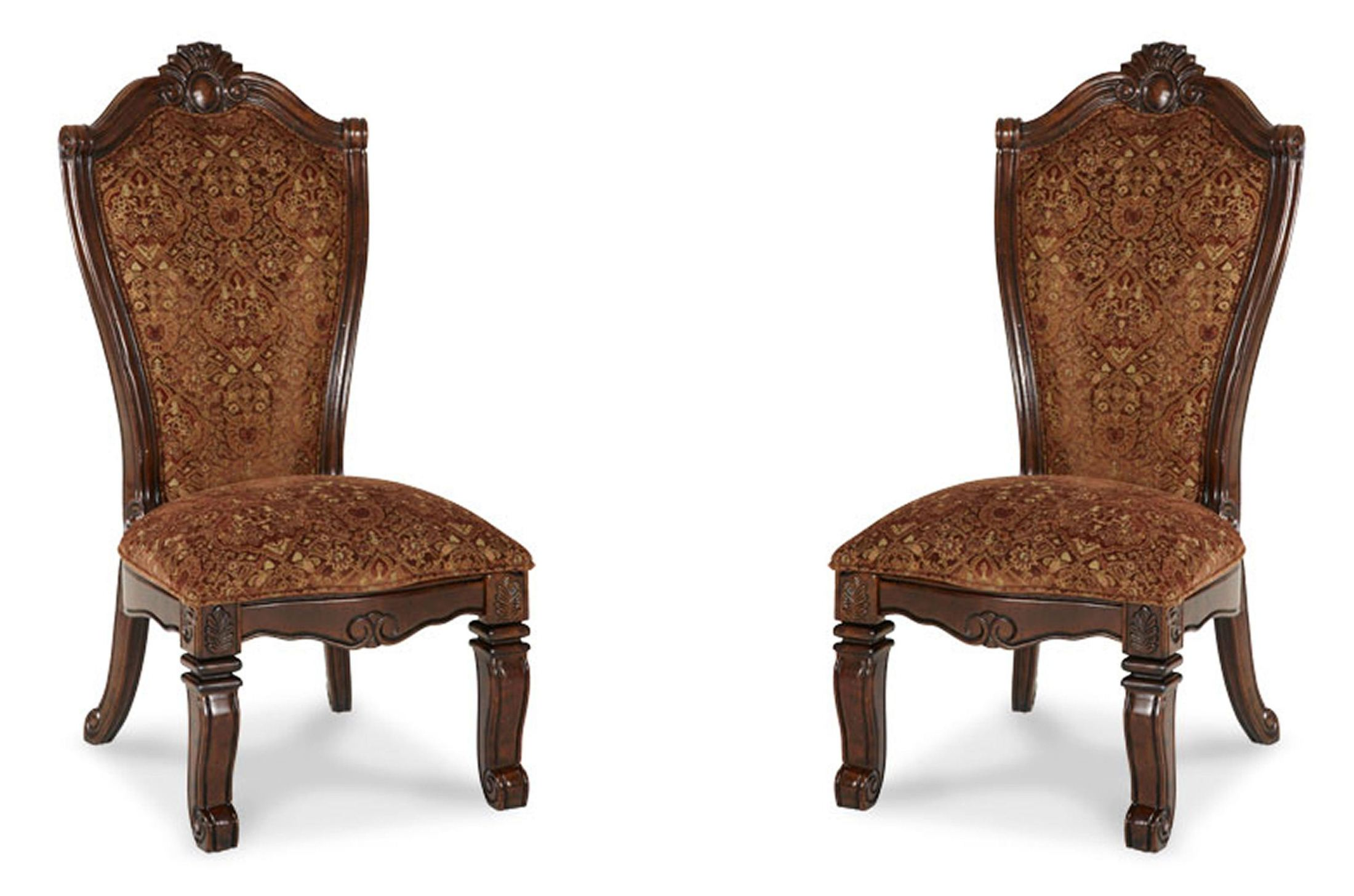 Aico Windsor Court Fabric Side Chair Set Of 2 Windsor