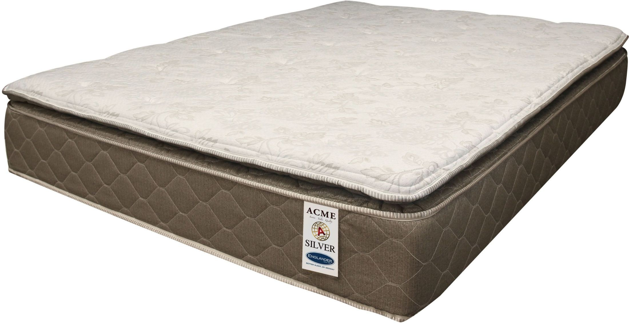 Pillow Top King Mattress Englander Silver 12