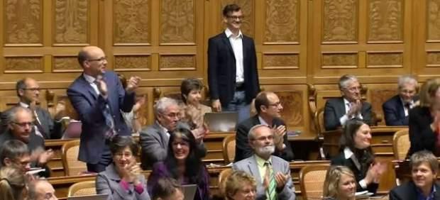 Sorpresa en el Parlamento Suizo