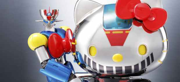 Hello Kitty y Mazinger Z