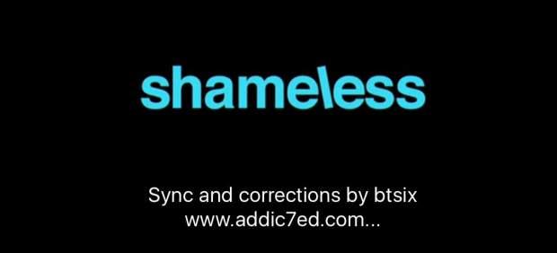 Subtítulos en 'Shameless'
