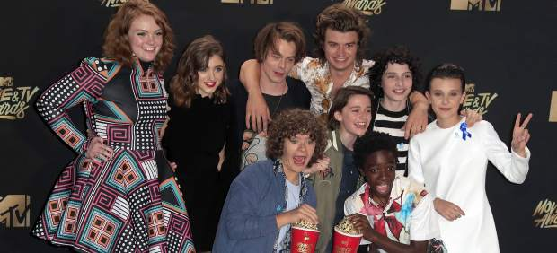 El reparto de Stranger Things