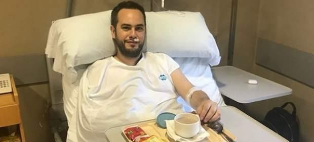 Jorge Blass, en el hospital