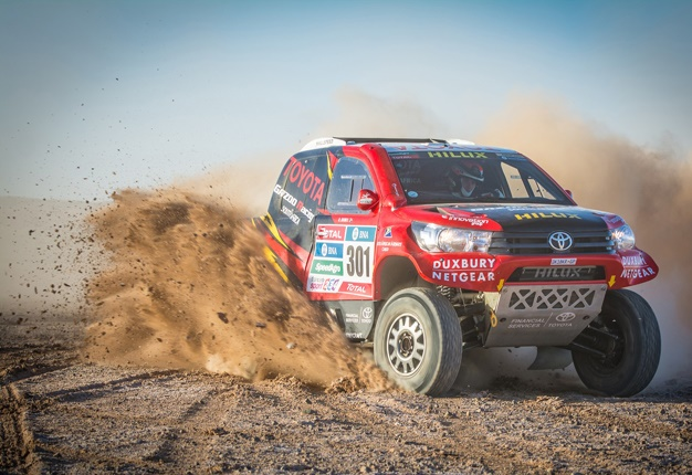 Fastest Car In The World Wallpaper 2015 Toyota Sa Wraps Dakar Testing For 2016 Wheels24
