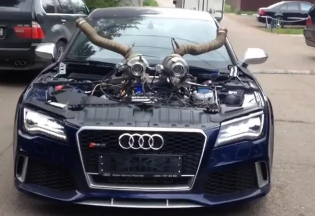 Audi S3 Wallpaper Girl Watch This Tuned Audi Rs7 Has Gone Viral Wheels24