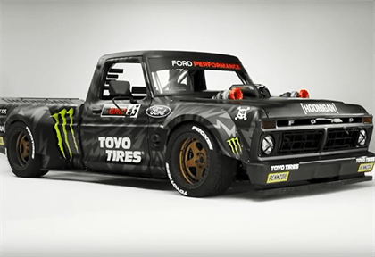 Monster Rally Car Wallpaper Watch A Twin Turbo Hoonitruck Ford Bakkie Transformed