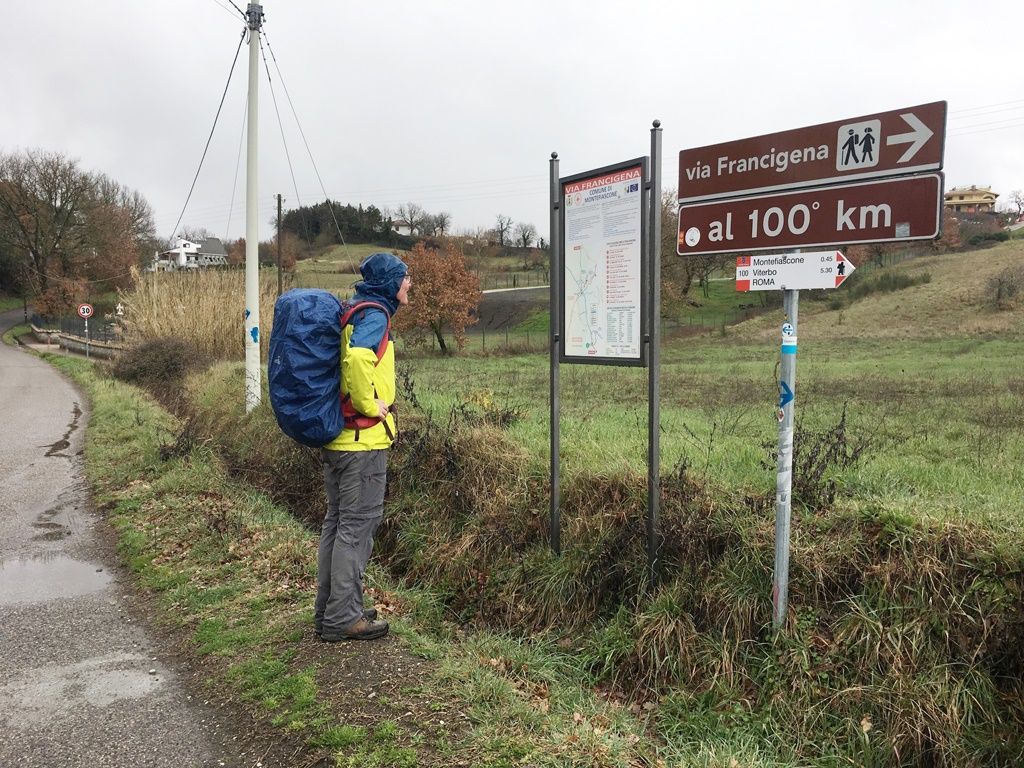 Camino Roma Est The Italian Camino Day 3 Crossing Mountains And Streams To Reach