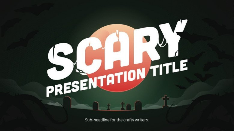 Halloween Free PowerPoint Template