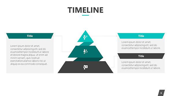 Creative 2019 Timeline Free PowerPoint Template