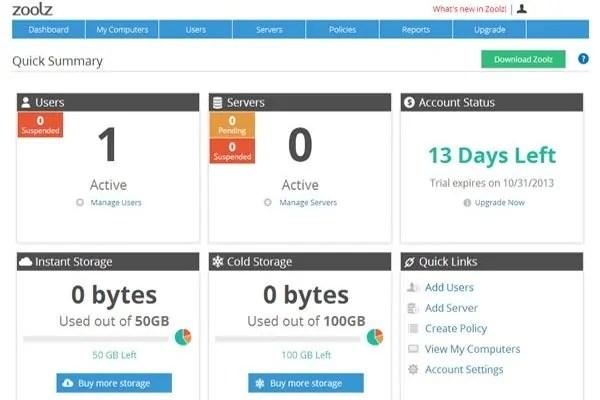 Zoolz Business Review Business Cloud Storage Service