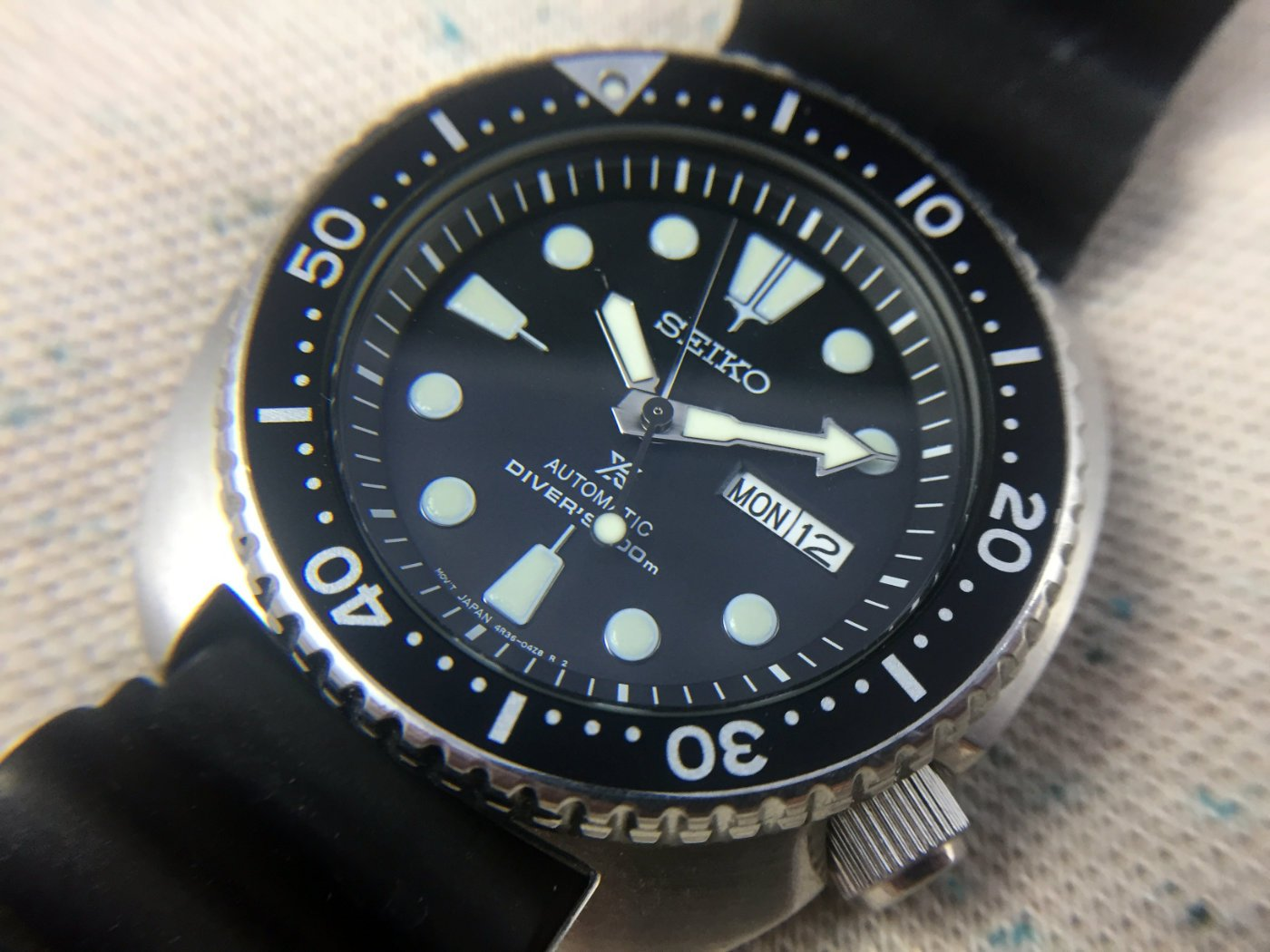 Seiko Srp Seiko Srp777 Turtle Hands On Review 60clicks