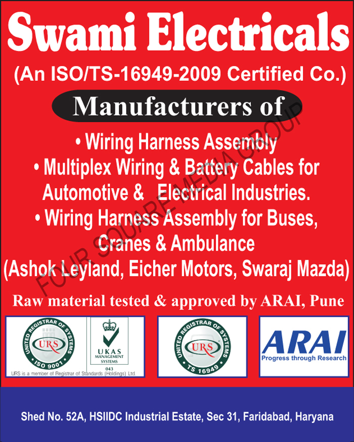 Wiring Harness Assembly Wire Harness Assembly Automotive Cables