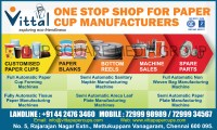 Manufacturing Of Paper Plates & JBZ A-12 Paper Cup Machine ...