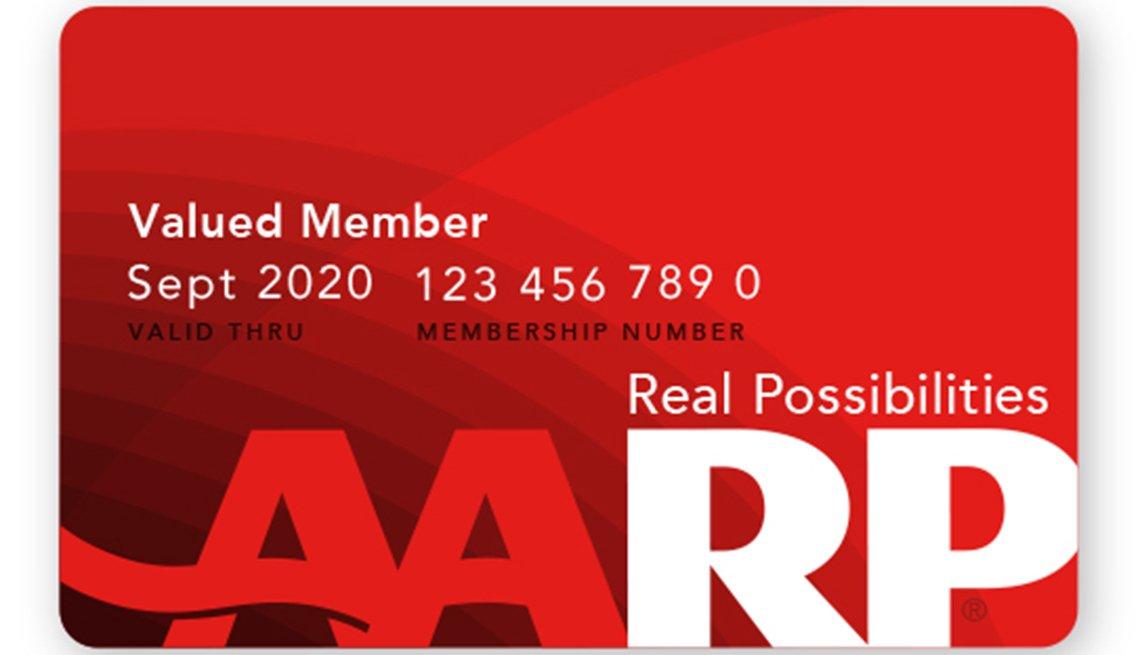 Print (or Replace) Your AARP Membership Card