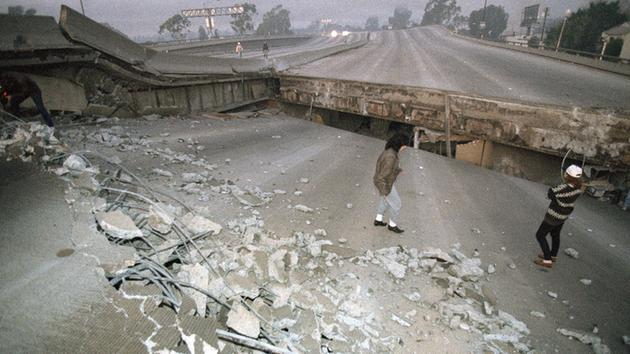 Image result for northridge quake freeways
