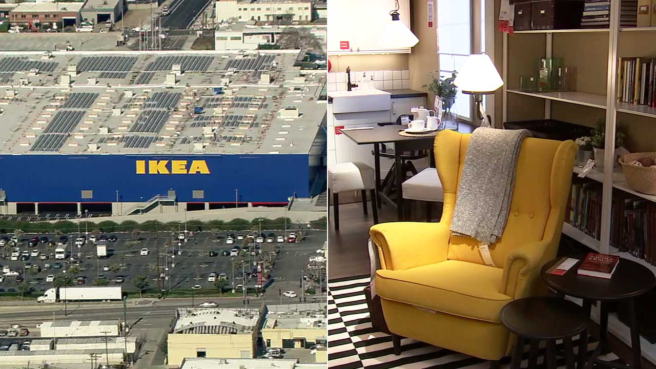 Ikea Burbank Directions New Burbank Ikea Take A Sneak Peek At Largest Ikea In America