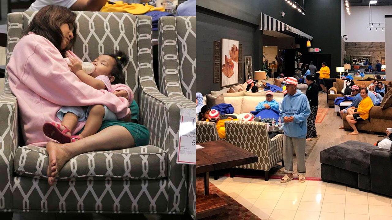 Furniture Stores Open For People In Need Of Shelter Across Houston Area Abc7 Los Angeles