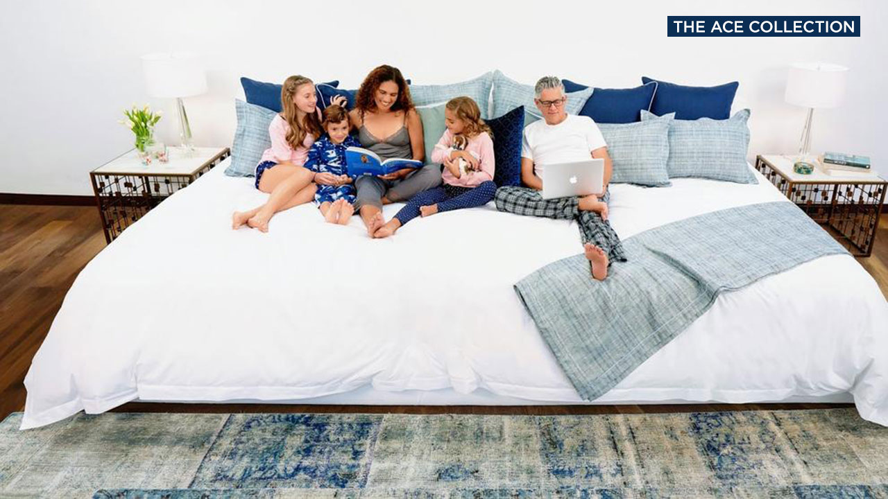 King Size Mattress Sale Uk Want A Bigger Bed Firm Offers 12 Foot Wide Family Sized Mattress