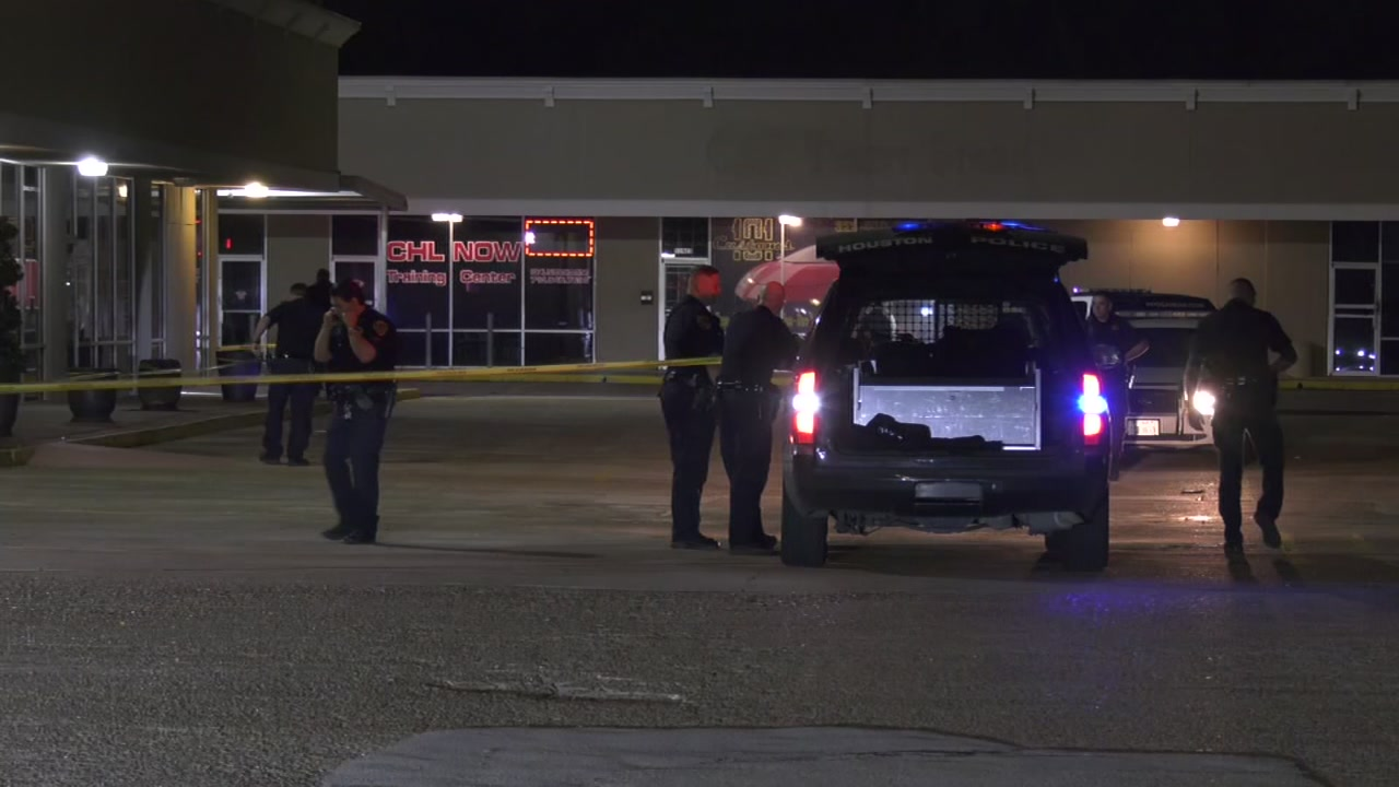 The Security Store Houston Hpd: Security Guard Shot 3 Suspects Trying To Break Into W