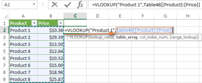 Excel VLOOKUP tutorial for beginners with formula examples