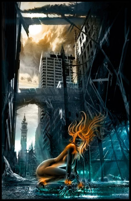 Beautiful Fiction Girl Wallpapers Amazing Scifi And Fantasy Images 66 Pics