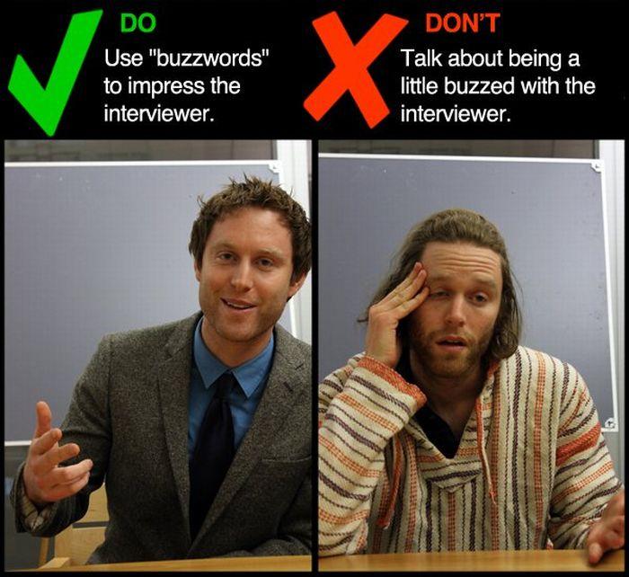 Job Interview Dos and Don\u0027ts (9 pics)