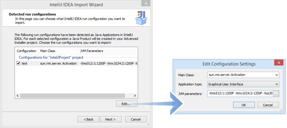 resume configuration wizard