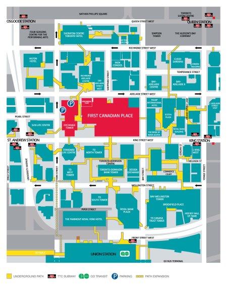 Path Maps Toronto