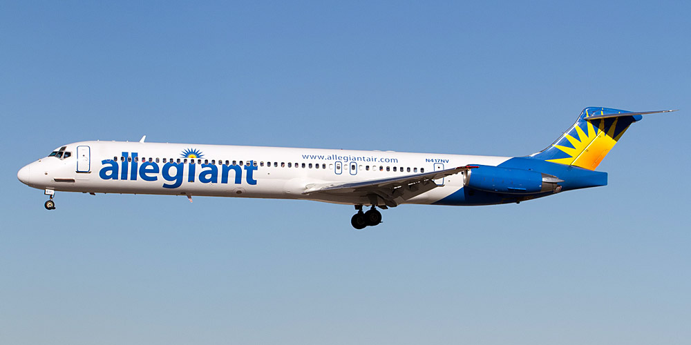 Allegiant Air Airline code, web site, phone, reviews and opinions