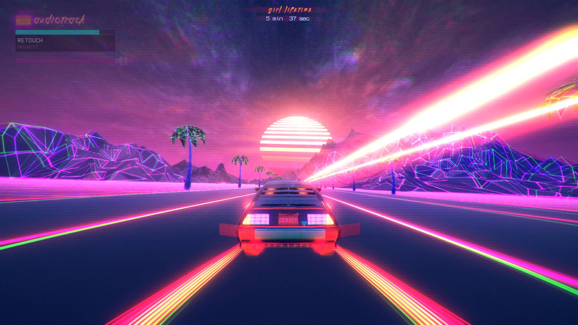 1920 Car Synthwave Wallpaper Download Outdrive Full Pc Game
