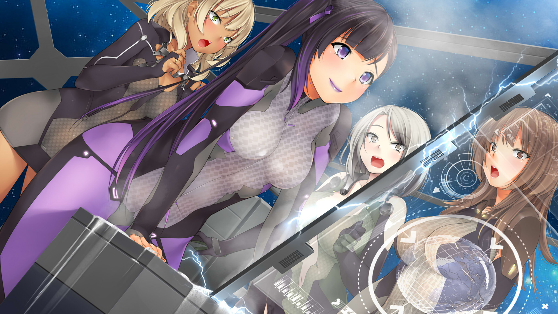Everyday Life With Monster Girls Wallpaper Galaxy Girls Deluxe Edition Download Free Full Games