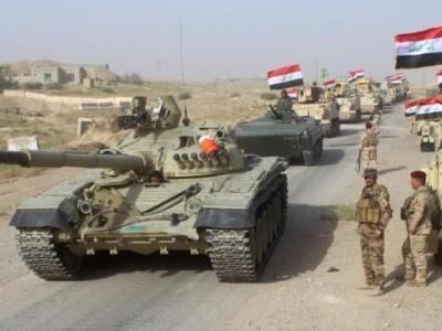 القوات العراقية تسيطر على قريتين جنوبي الموصل