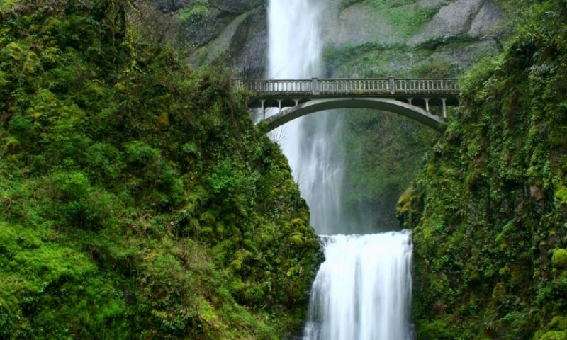 Multnomah Falls Oregon Winter Wallpaper Mount Hood Highway Oregon Alltrips